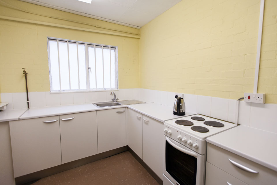 hall hire in hertfordshire-Maxwell Park Community Centre Facilities - Photograph of Kitchen