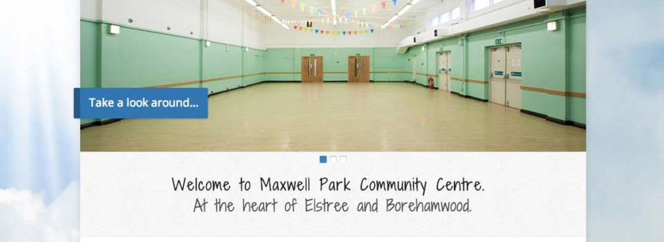 Image of Maxwell's new website homepage